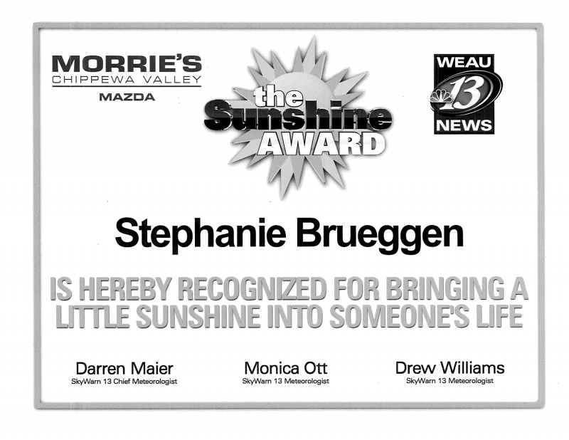Stephanie Sunshine Award